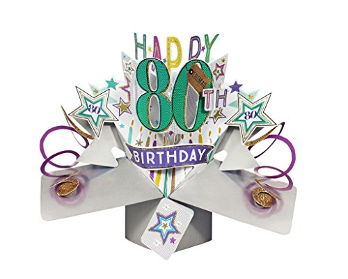 Tarjeta felicitación sorpresa cumpleaños Second