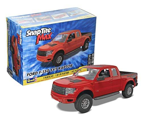 Revell SnapTite Max Ford F-150 SVT Raptor Pick Up Model Kit , Red