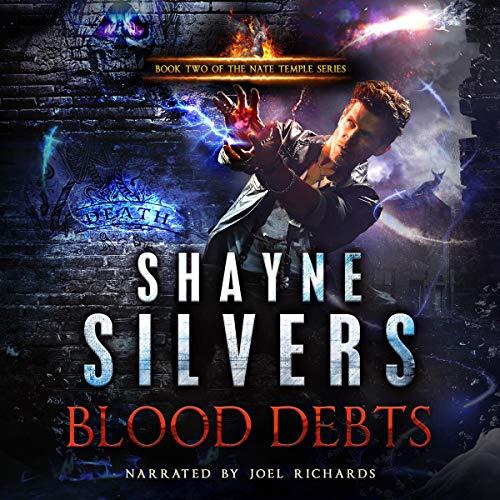 『Blood Debts』のカバーアート