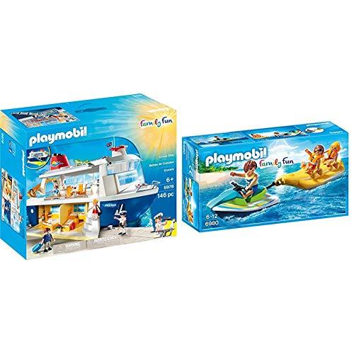 Playmobil 6978 - Kreuzfahrtschiff & 6980 - Aqua Scooter mit Bananenboot