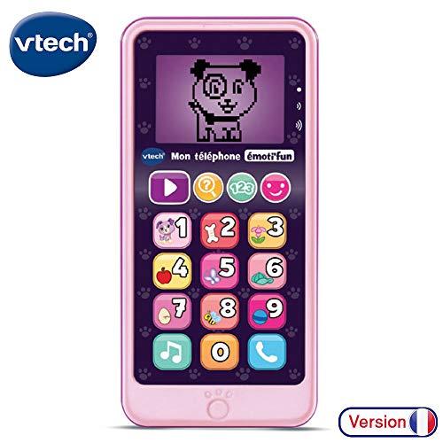 VTech Telephone EMOTI'FUN Pink elektrisch speelgoed, 80-603755, meerkleurig