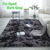 Odot Tapis Salon Shaggy Design Moderne Poils Longs, Interieur Anti Slip Décor...