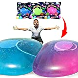 HIRO 水風船 バブルボール 巨大水風船 水遊び 日本語説明書付き 3色セット ビーチボール バルーンボール
