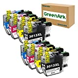 GREENARK Compatible Ink Cartridge Replacement for Brother LC3013 LC-3013 LC3013XL for use with Brother MFC-J491DW MFC-J895DW MFC-J690DW MFC-J497DW Printer (2 Black,2 Cyan, 2 Magenta, 2 Yellow, 8 Pack)