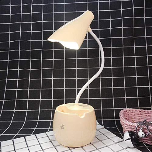 Raak het verduisteren van de gevoerde oogbeschermingslamphouder aan die het leeslampje / -geel leren.