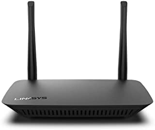 Linksys E5350 Dual-Band WiFi 5 Router (AC1000, 4 Fast Ethernet ports, 2 Antennas)