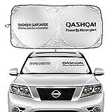 Toldo del parabrisas Delantero del Coche Adecuado para Nissan Qashqai J10 J11 2018 2019 Accesorios de Windows Windows Parabrisas Sun Shade Cubre la ventana delantera Sombrilla Parasoles de Coche