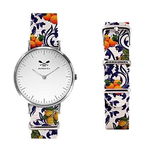 Barbosa orologio donna limoni arance con quadrante bianco