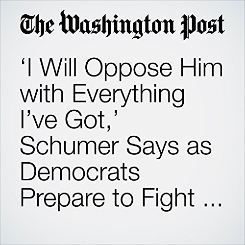 'I Will Oppose Him with Everything I've Got,' Schumer Says as Democrats Prepare to Fight Kavanaugh copertina