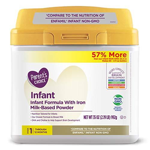 Parent's Choice Premium Powder Formula with Iron, 35 Oz