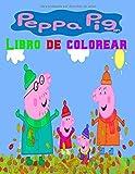 Peppa pig Libro de colorear: Pinta y pega con Peppa (Peppa Pig. Actividades): (Incluye adhesivos)