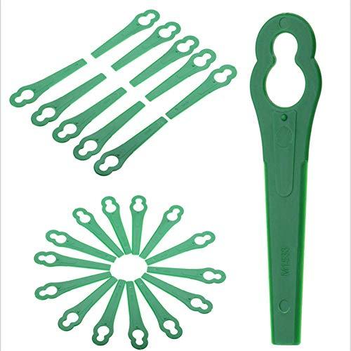 iBoosila Tosaerba Da Giardino Tosaerba Tosaerba Tagliabordi In Plastica Tagliaerba Per Bosch Einhell Serie 100 unidades