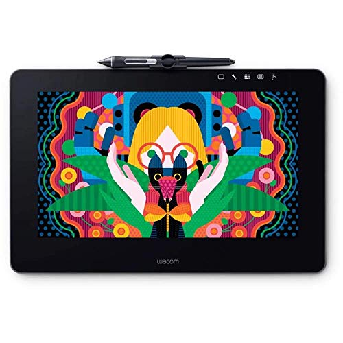 Wacom DTH1320AK0 Cintiq Pro 13' Creative Pen Display with Link Plus, HD LCD Graphics Monitor, Dark Gray