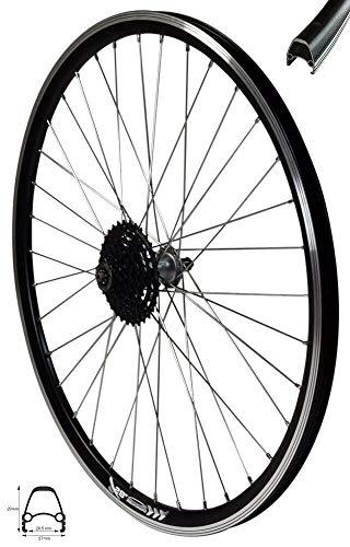 Redondo 28 Zoll E-Bike Hinterrad Laufrad 4D Felge Schwarz + 8-Fach Shimano Kranz