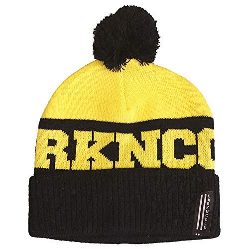 Dark N' Cold Inner City Beanie Black Yellow