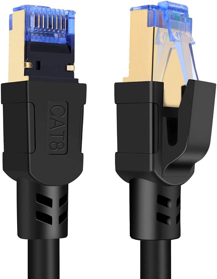 Max 65% OFF 6.5 Regular store ft + 26 Cat8 Ethernet Cable 8 Network E Speed High Cat