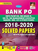 Kiran Bank PO 2018 2020 Solved Papers (English Medium) (3068)