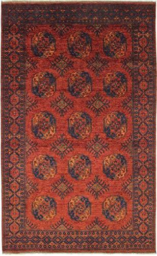 Nain Trading Afghan Ersari 321x201 Orientteppich Teppich Braun Handgeknüpft Afghanistan