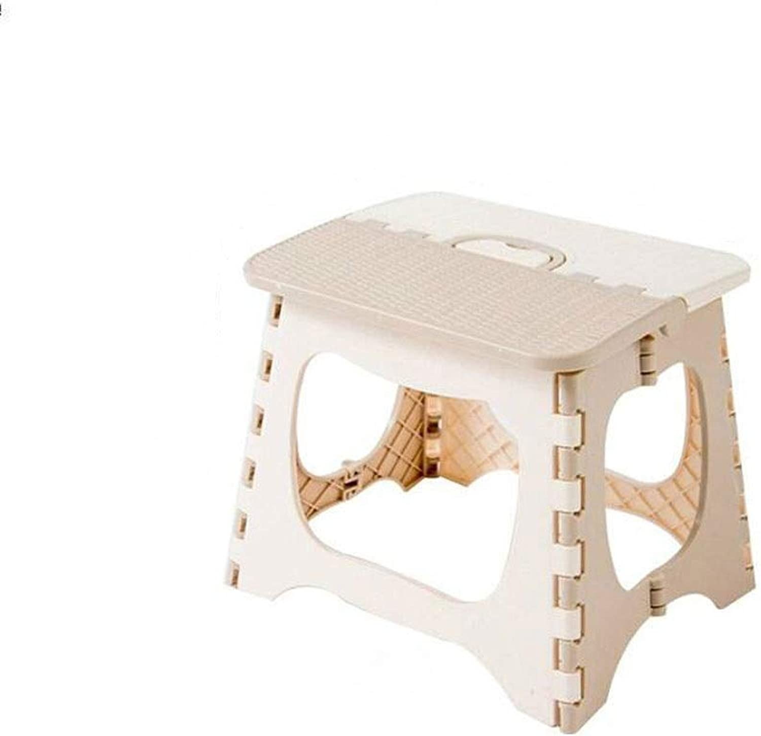 FASKT Folding Step Stool Lightweight Plastic Step Stool,Foldable Step Stool for Kids and Adults,Non Slip Folding Stools for Kitchen Bathroom Bedroom