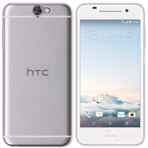 moodie Silikonhülle für HTC One A9 Hülle in Transparent - Hülle Schutzhülle Tasche für HTC One A9