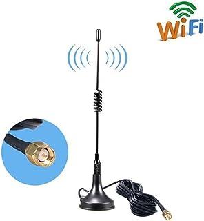 SMA Base Magnética Antenna 10dBi Alta Ganancia 4G LTE, Amplificador de Antena gsm WiFi Receptor de Adaptador de Red Antena...