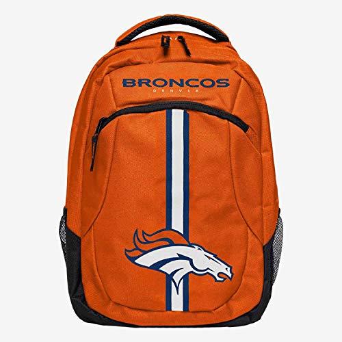 Forever Collectibles FOCO Denver Broncos Action Stripe NFL Sac à Dos Orange