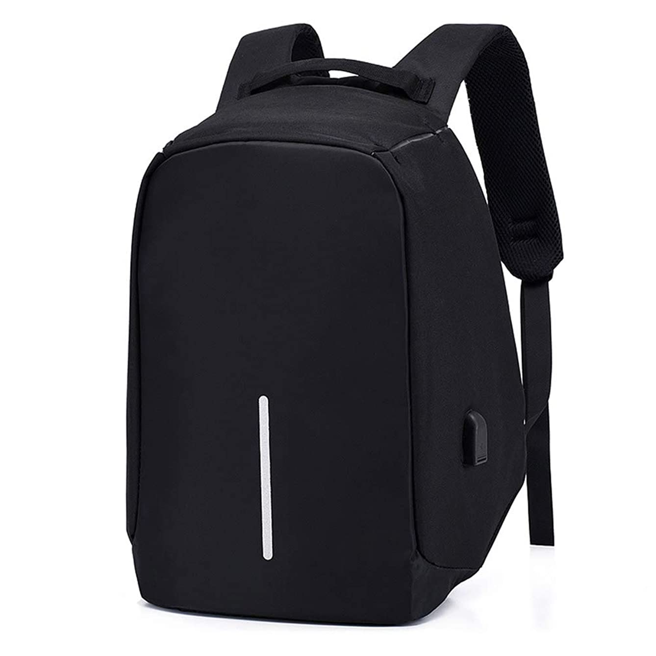Business Travel Backpack, Laptop Backpack with USB Charging Port for Men Womens, Anti-Theftresistant College School Bookbag Computer Backpack Fits 15.6 Inch Laptop
