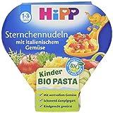 HiPP Sternchennudeln mit italienischem Gemüse Bio, 6er Pack (6 x 250 g)
