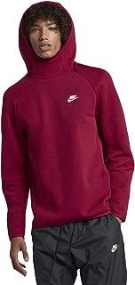 Sportswear Tech Fleece Pullover Hoodie (Red Crush/White, XL)