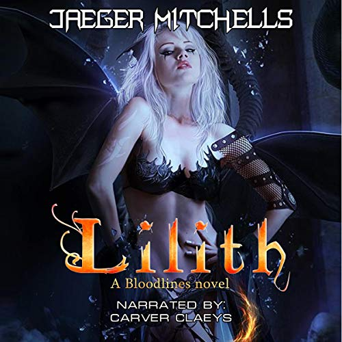 Bloodlines: Lillith audiobook cover art
