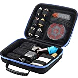 HUIZHU EVA Multi-Functional case Carrying case Vape Carrying Bag (Black, M)