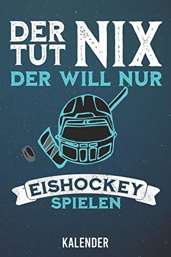 Kalender: 2020 A5 1 Woche 2 Seiten - 110 Seiten - Der tut nix Eishockey