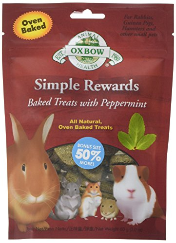 Oxbow Peppermint Simple Ricompense Baked Treats