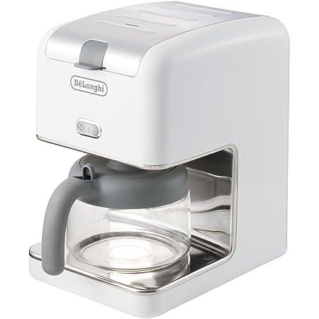デロンギ ブラン ドリップコーヒーメーカー ホワイト 【6杯用】 CM300J-WH