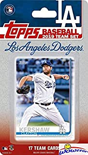 Los Angeles Dodgers 2019 Topps Baseball EXCLUSIVE Special Limited Edition 17 Card Complete Team Set with Clayton Kershaw, Walker Buehler & Many More Stars & Rookies! Shipped in Bubble Mailer! WOWZZER!