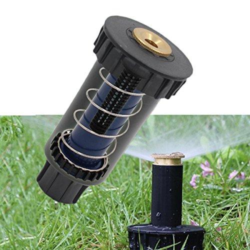 SYN Aspersor Pop-Up, 90/180/360 Grados, rociador de pulverización Ajustable, Boquilla de riego retráctil automática para césped o jardín
