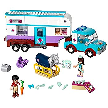 LEGO 41125 Horse Vet Trailer Building Kit  370 Piece