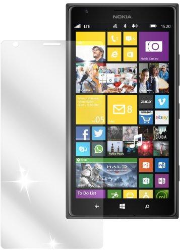 dipos I 2X Schutzfolie klar kompatibel mit Nokia Lumia 1520 Folie Bildschirmschutzfolie