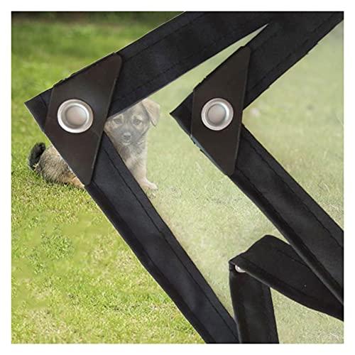 DPLLM Toldo Impermeable para jardín GardenMate Resistente a la Intemperie a Prueba de Lluvia Lona de Invernadero para Uso en Exteriores (Color : Transparente, Size : 2x2.5m/6.6x8.3ft)