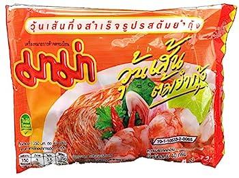 MAMA Bean Vermicelli Tom Yum Koong  Shrimp  Flavor Oriental Style Instant Ramen  10 Pack