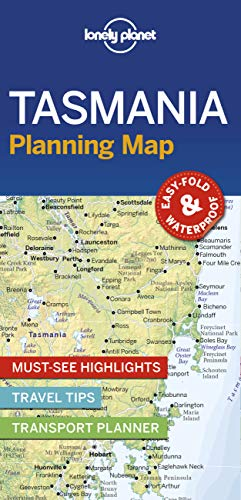Lonely Planet Tasmania Planning Map (Planning Maps)