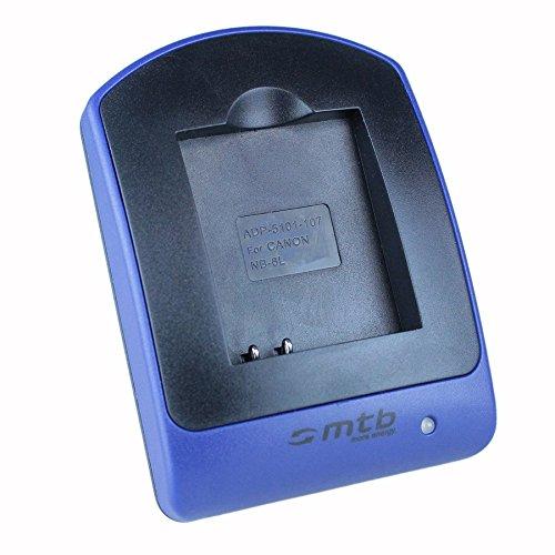 Cargador (Micro-USB, sin Cables/adaptadores) NB-6L para Canon IXUS 105, 310 HS. / Powershot SX530 HS, SX600 HS. - Ver Lista