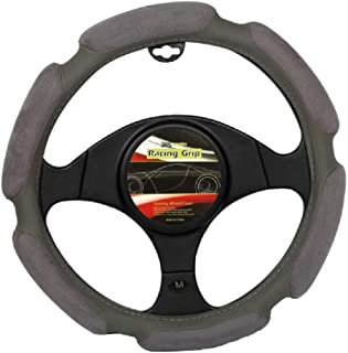 Xcessories Padded Steering Wheel Cover, Grey