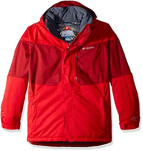 Columbia Chaqueta Alpine Action para hombre, Hombre, AJ-1562152-Big-Tall, Rojo Montaña/Remolacha, 3X