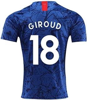 LDFN, LDFN Uniforme de Futbol Olivier Giroud # 8 del Jersey del fútbol, Transpirable y de Secado rápido Camiseta de fútbol, Deportes de Manga Corta for Mujeres y niños (Color : A, Size : Child-22)