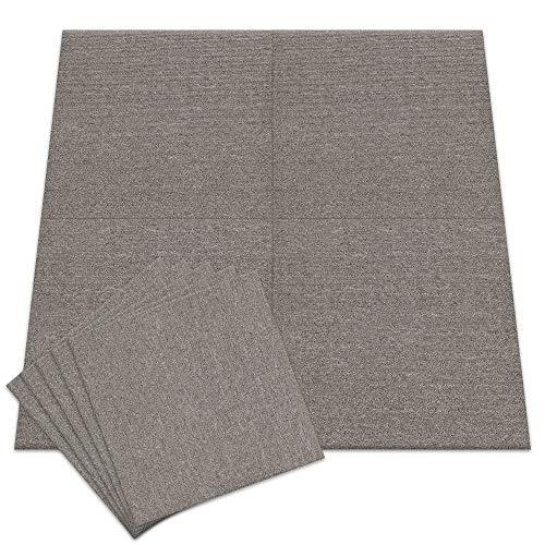 アイリスプラザ タイルカーペット 6畳 48枚セット ジョイントマット ベージュ 50×50 TKP-PP50