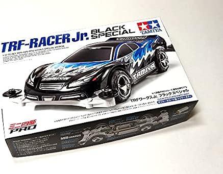rcecho Tamiya Model Mini 4WD Racing Car 1/32 TRF-Racer Jr. Black Special 95550