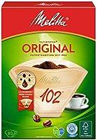 Melitta filtre torbaları doğal kahverengi 102 / 80