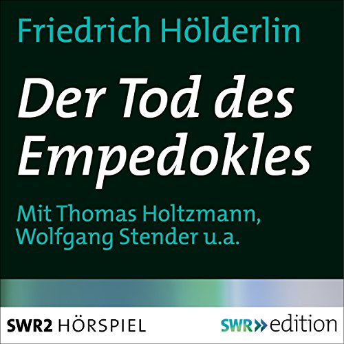Der Tod des Empedokles audiobook cover art