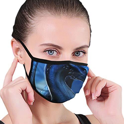 Night Dragon Gesichtsabdeckung, waschbar und wiederverwendbar, staubdicht, Unisex, Mundschutz für den täglichen Gebrauch
